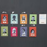 Gelamineerde badges met foto