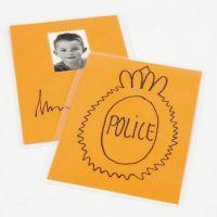 Een politiepenning maken