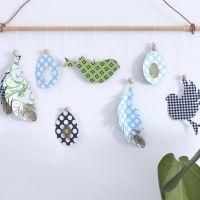 Uitgeknipte Vivi Gade hangende decoraties voor de lente en pasen