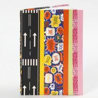Boekenkaft gemaakt van Duck Tape