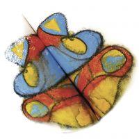 Aquarelkleuren en symmetrie