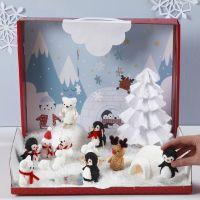 Winter Wonderland met Foam Clay figuren