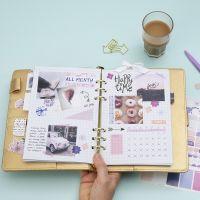 Maandoverzicht voor Bullet journal en planner