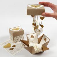 DIY Explosion Box voor Huwelijk