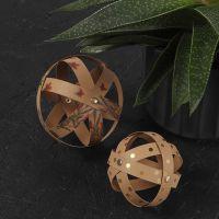 Decoratieve ballen van Faux Leather Papier