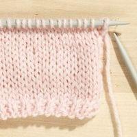 Hoe tricotsteek te breien